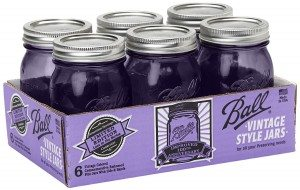 Purple canning jars? Why, yes, thank you!