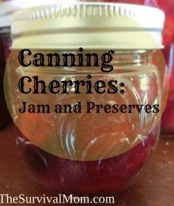 Canning Cherries: Jam and Preserves