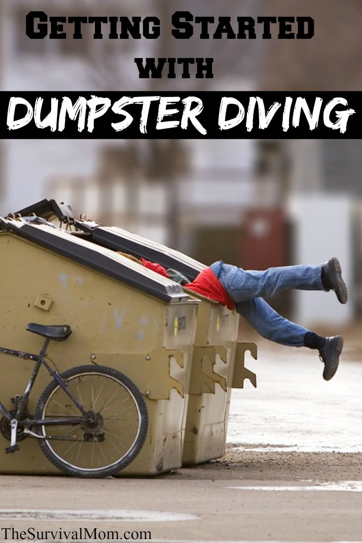 getting started dumpster diving