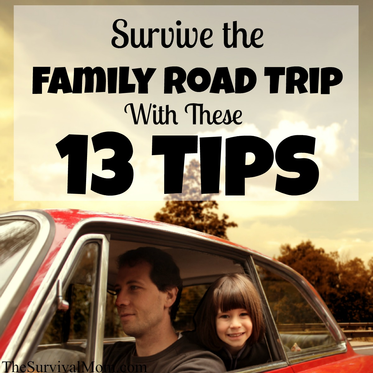 family road trip survival