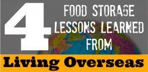 food storage lessons
