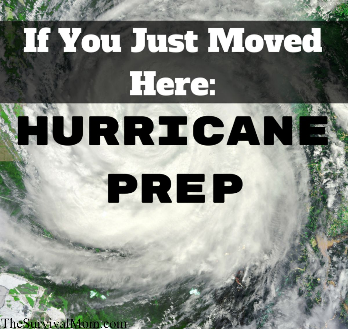 preparing for a hurricane