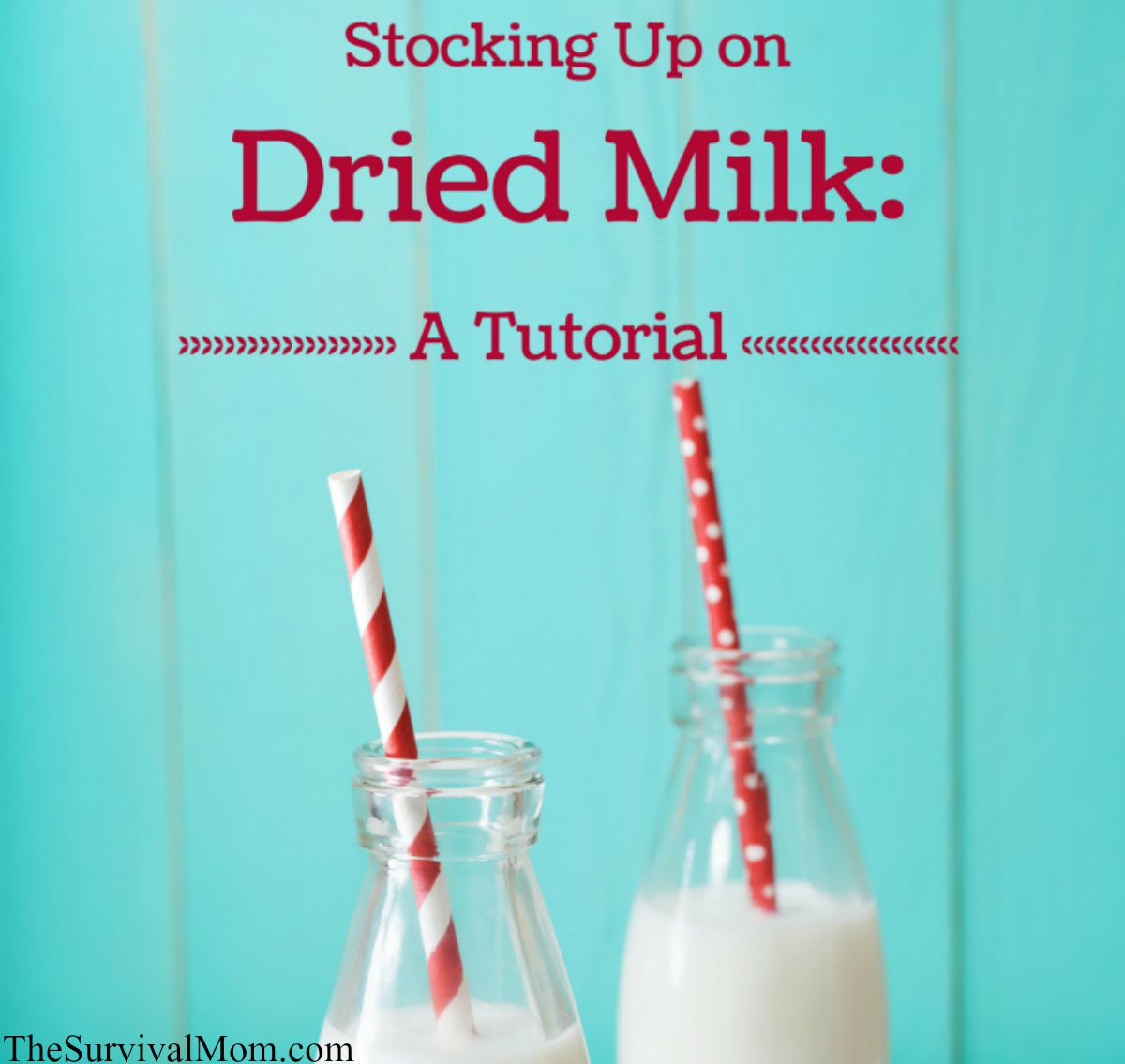 Stocking Up on dried milk