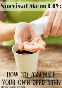Survival Mom DIY: Assemble Your Own Seed Bank