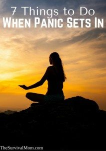 7 Things To Do When Panic Sets In