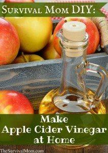 Survival Mom DIY: Making Apple Cider Vinegar At Home