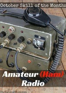 October Skill of the Month: Amateur (Ham) Radio
