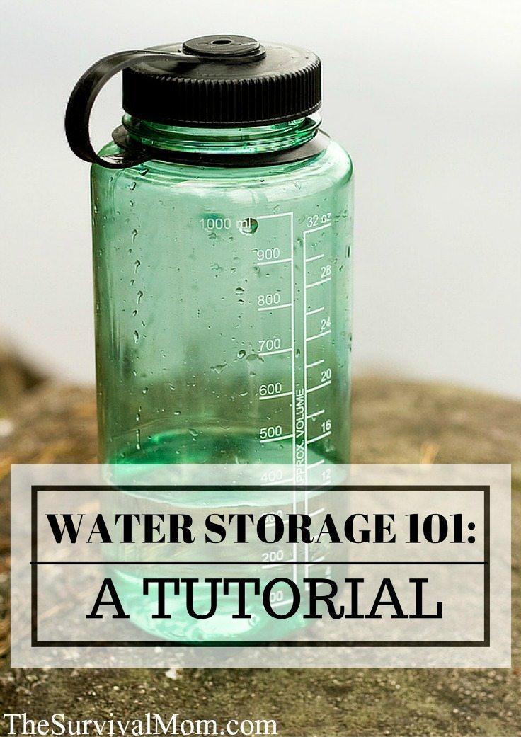 Water Storage 101
