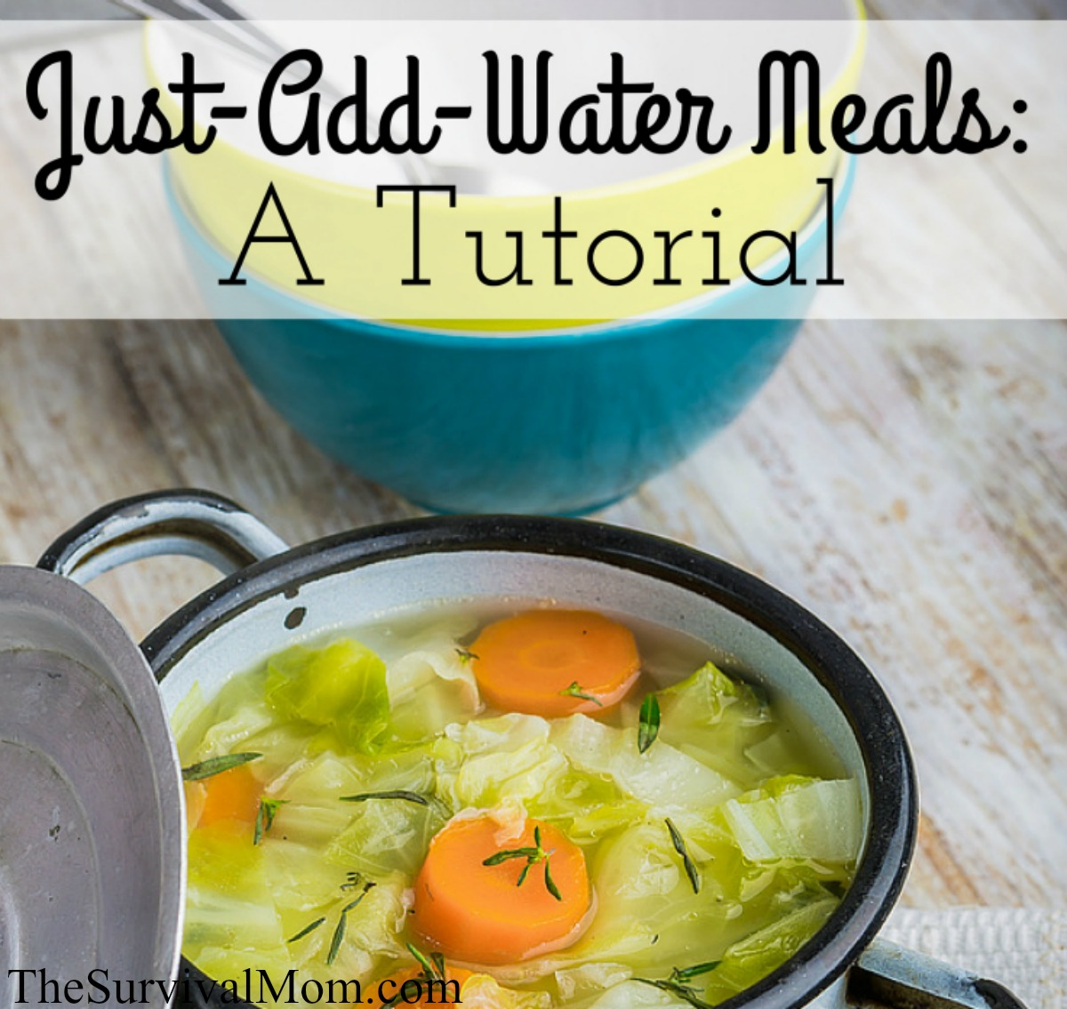 add water meals FB size