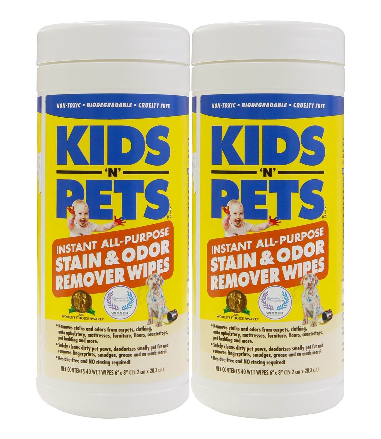 kids n pets wipes