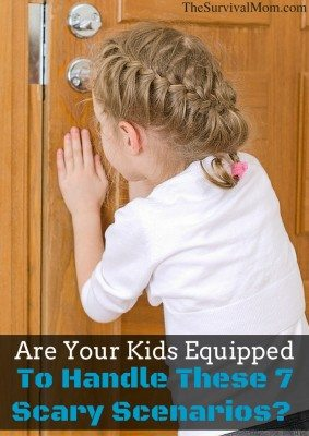 Are your kids equipped to handle these 7 scary scenarios?