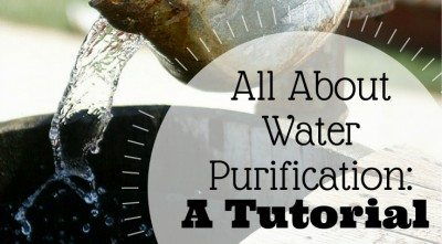 All About Water Purification: A Tutorial