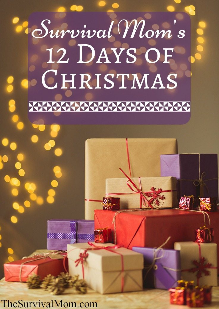 12 days of christmas gifts for mom