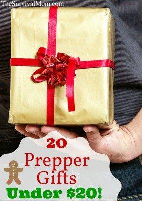 20 Prepper Gifts under $20