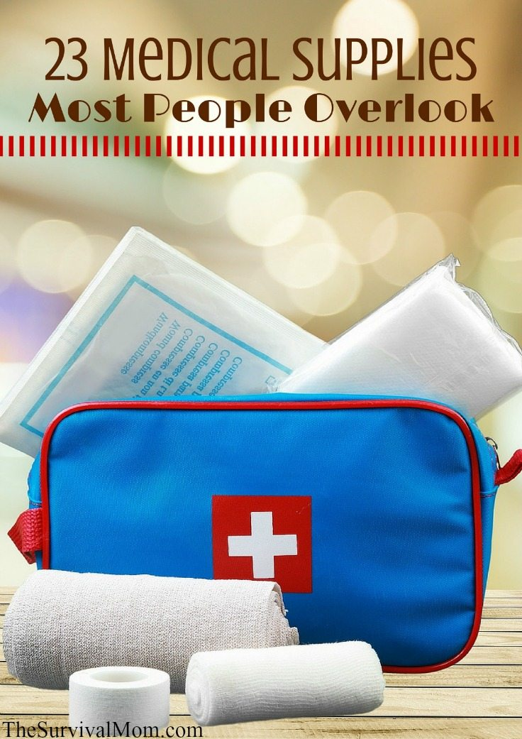 A Typical First Aid Kit Provides Only The Bare Minimum Of Supplies That Well Equipped Home Should Have When It Comes To Health And Medicine