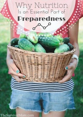 Why Nutrition is an Essential Part of Preparedness