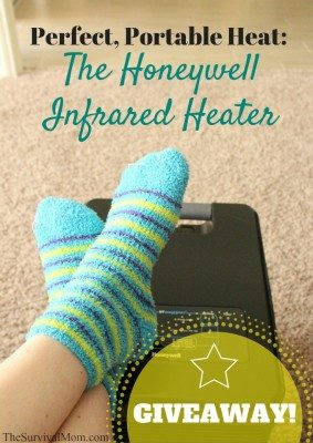 Perfect, Portable Heat: The Honeywell Infrared Heater
