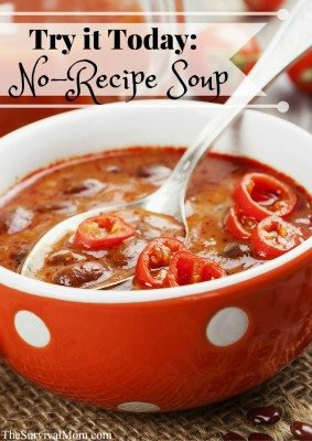 Try it Today: No-Recipe Soup