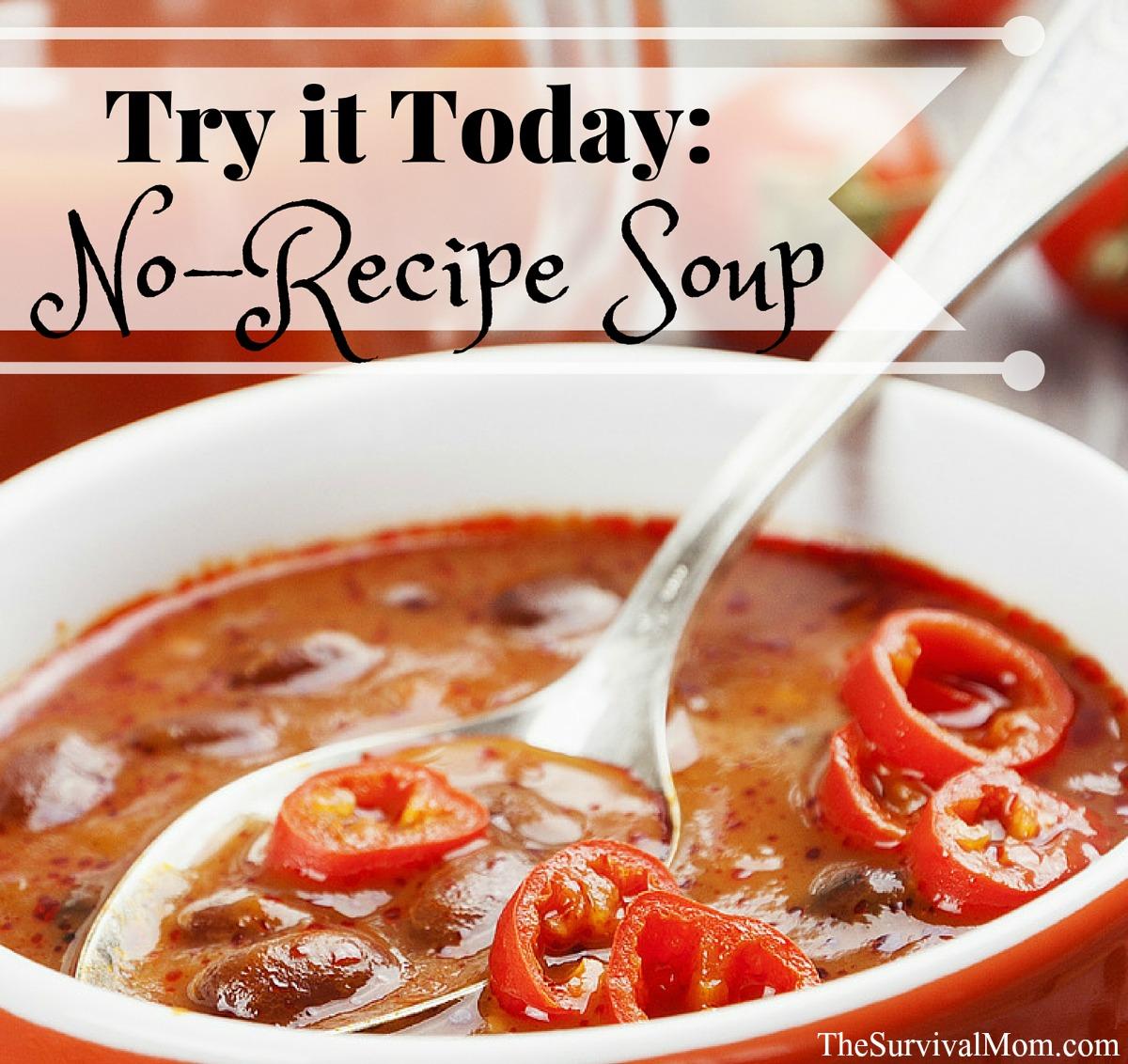 no recipe soup FB size
