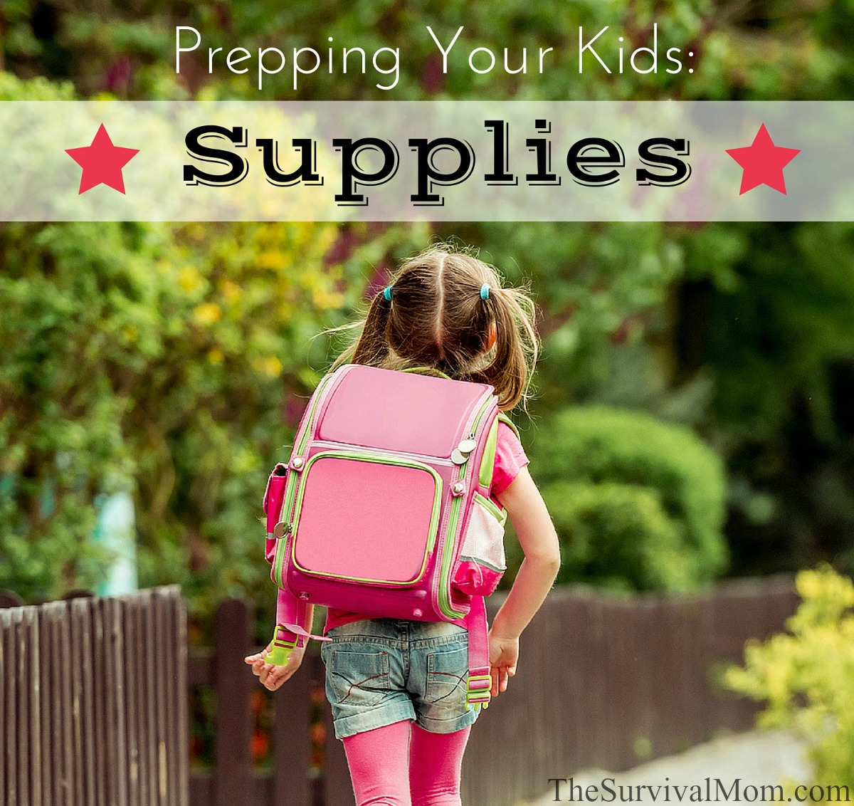 Prepping Your Kids for emergencies