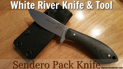 White River Knife & Tool Pack Knife