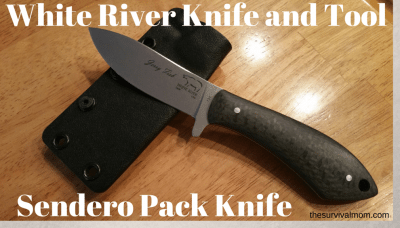 White River Knife & Tool Sendero Pack Knife