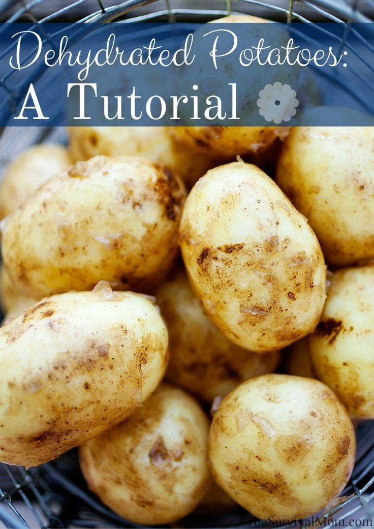 dehydrated potatoes