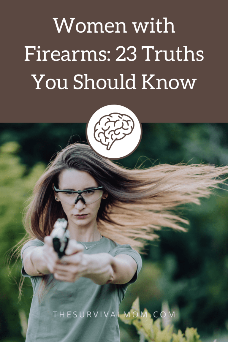 image: woman with handgun