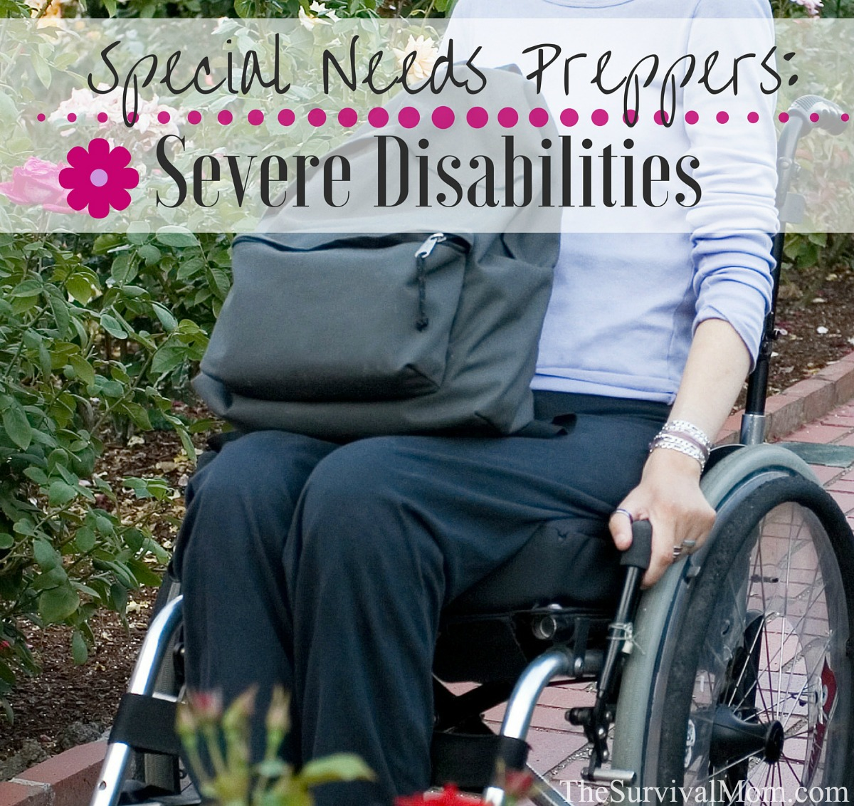severe disabilities FB size