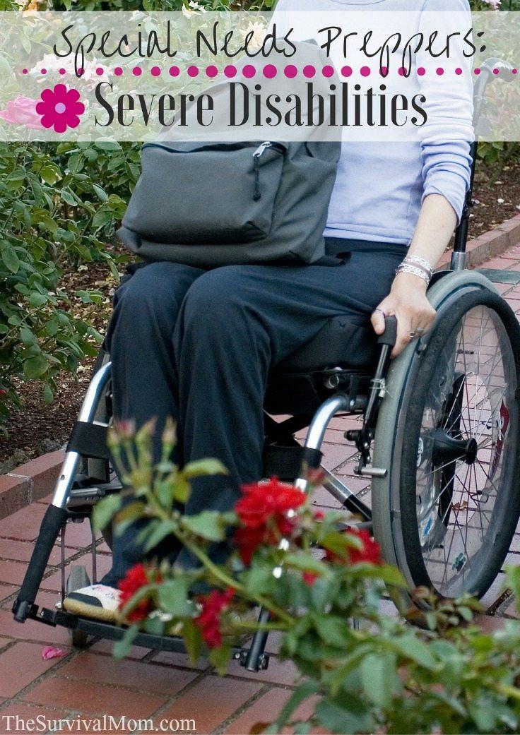 severe disabilities