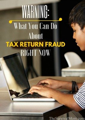 Warning: What You Can Do About Tax Return Fraud Right Now