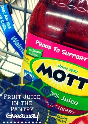 Fruit Juice in the Pantry