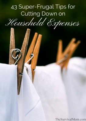 cutting down household expenses