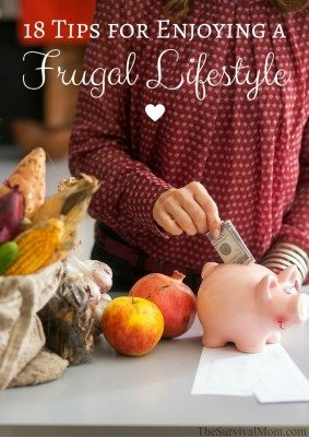 18 Tips for Enjoying a Frugal Lifestyle