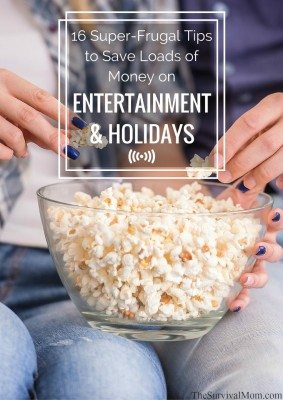 frugal entertainment holidays