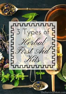 3 Types of Herbal First Aid Kits