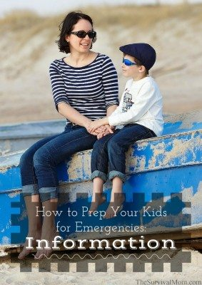 How to Prep Your Kids For Emergencies: Information