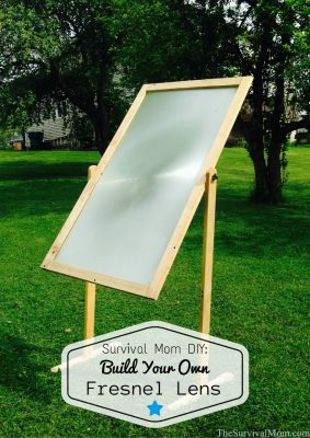 Survival Mom DIY: Build Your Own Fresnel Lens