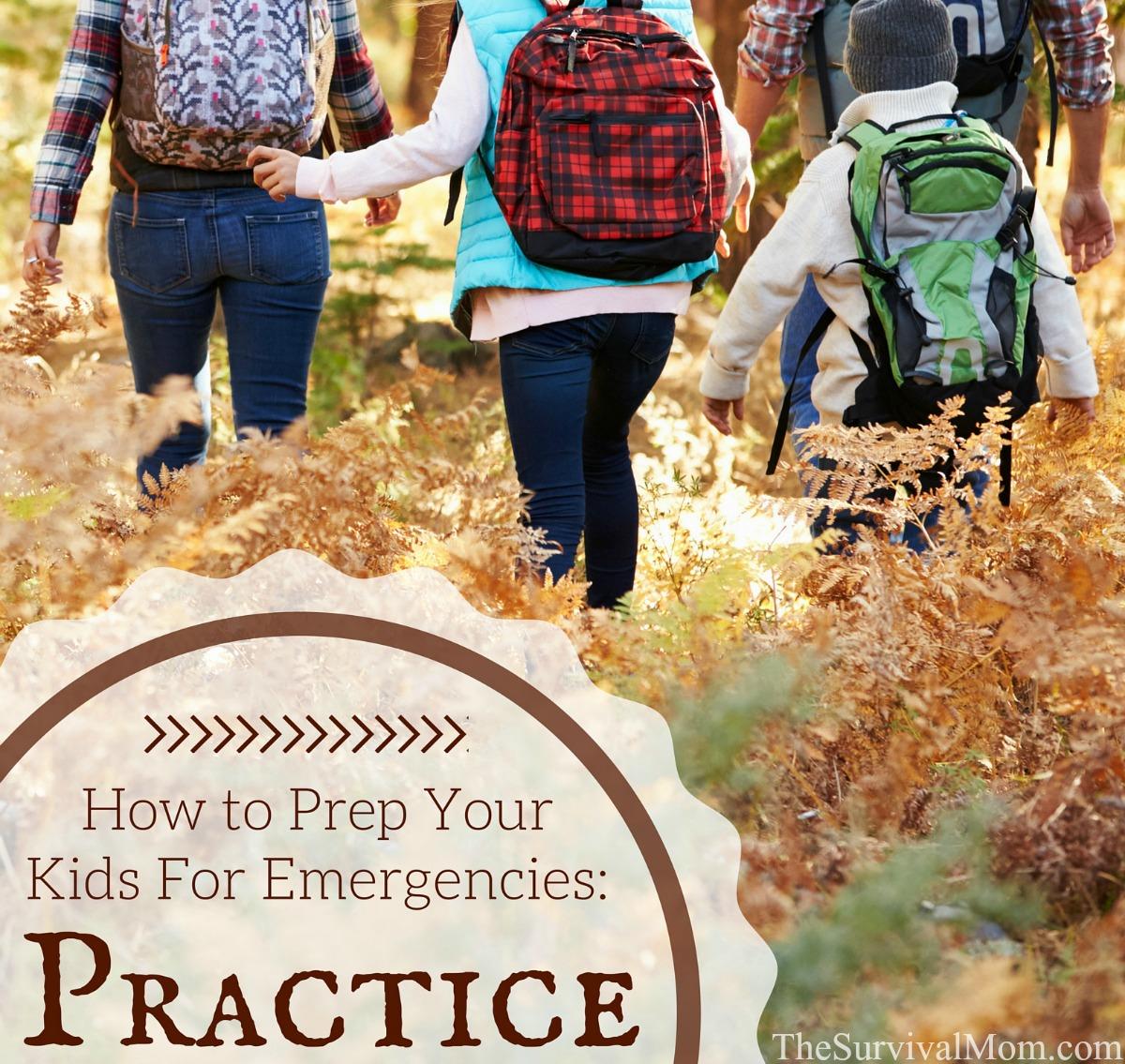 prep your kids practice