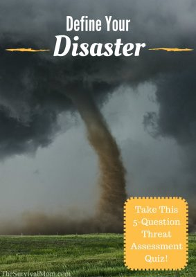 Define Your Disaster