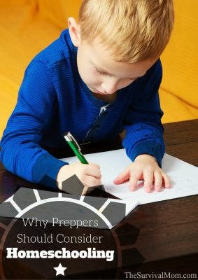 Why Preppers Should Consider Homeschooling