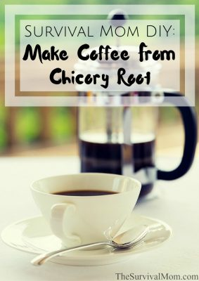 Survival Mom DIY: Make Coffee from Chicory Root