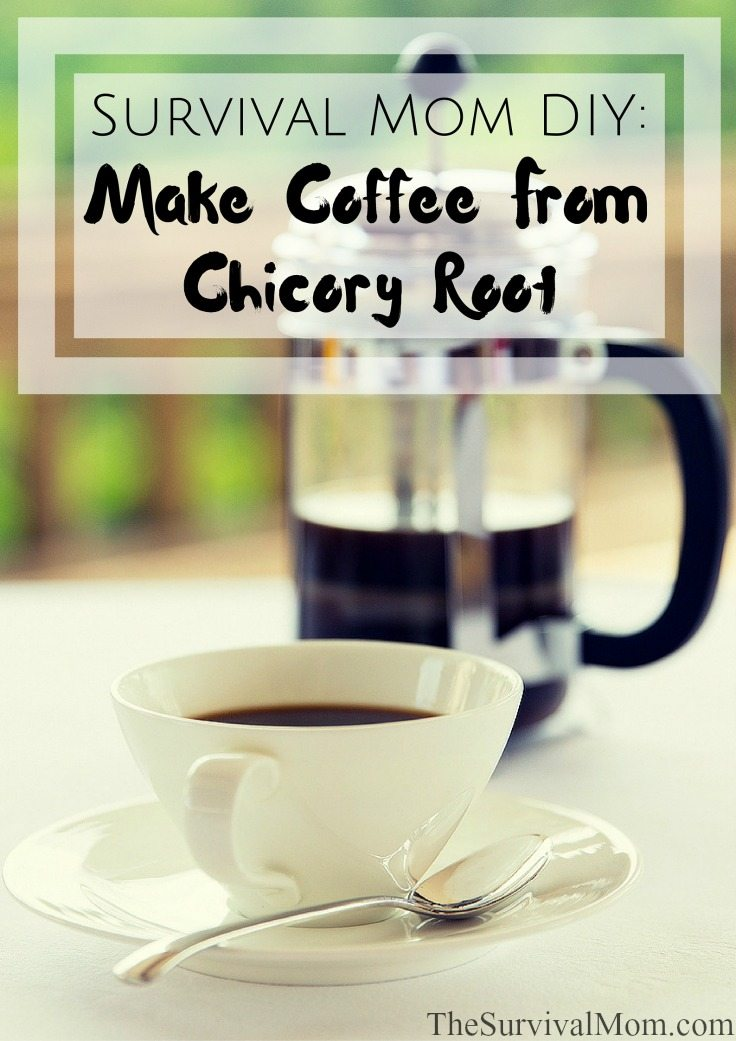 make coffee from chicory root