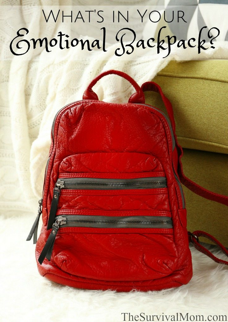 What's In Your Emotional Backpack via The Survival Mom