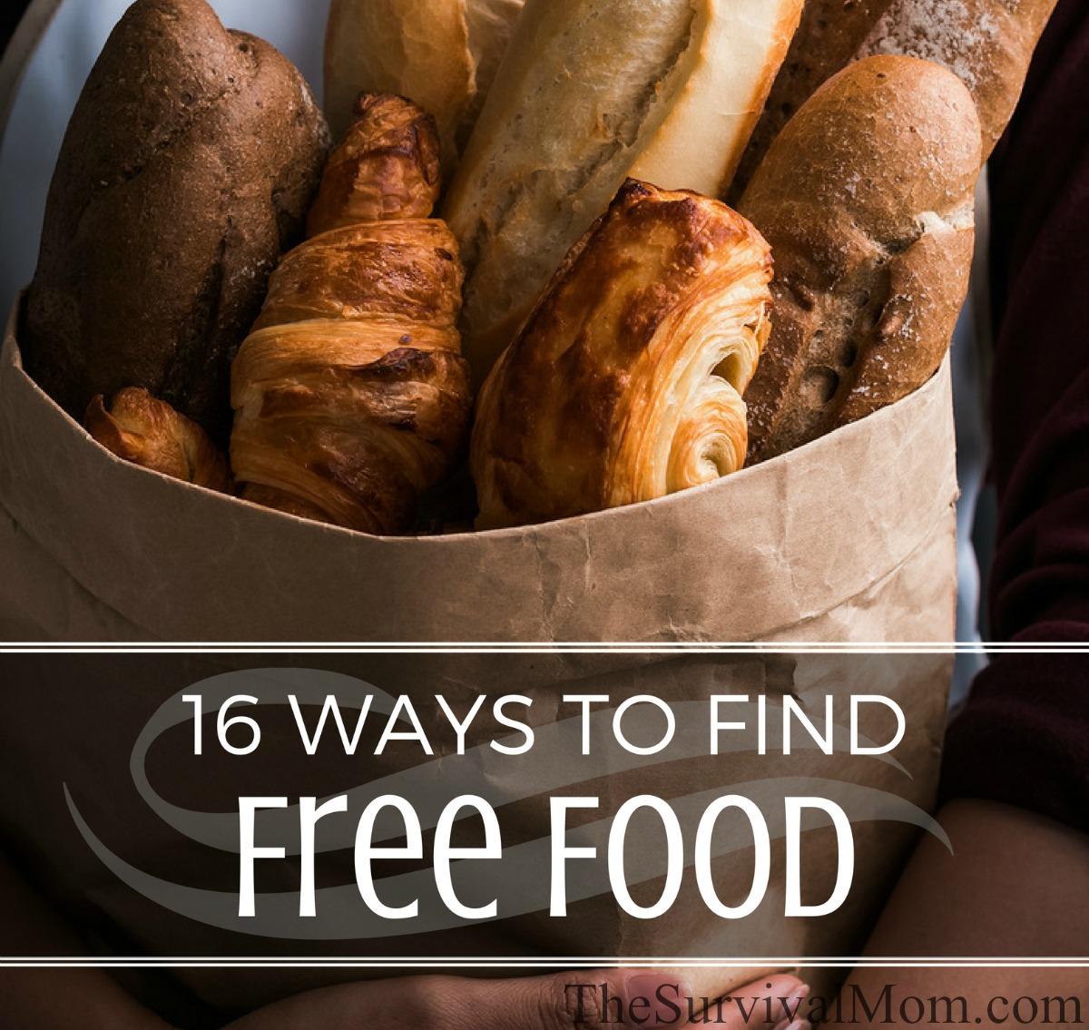 find free food