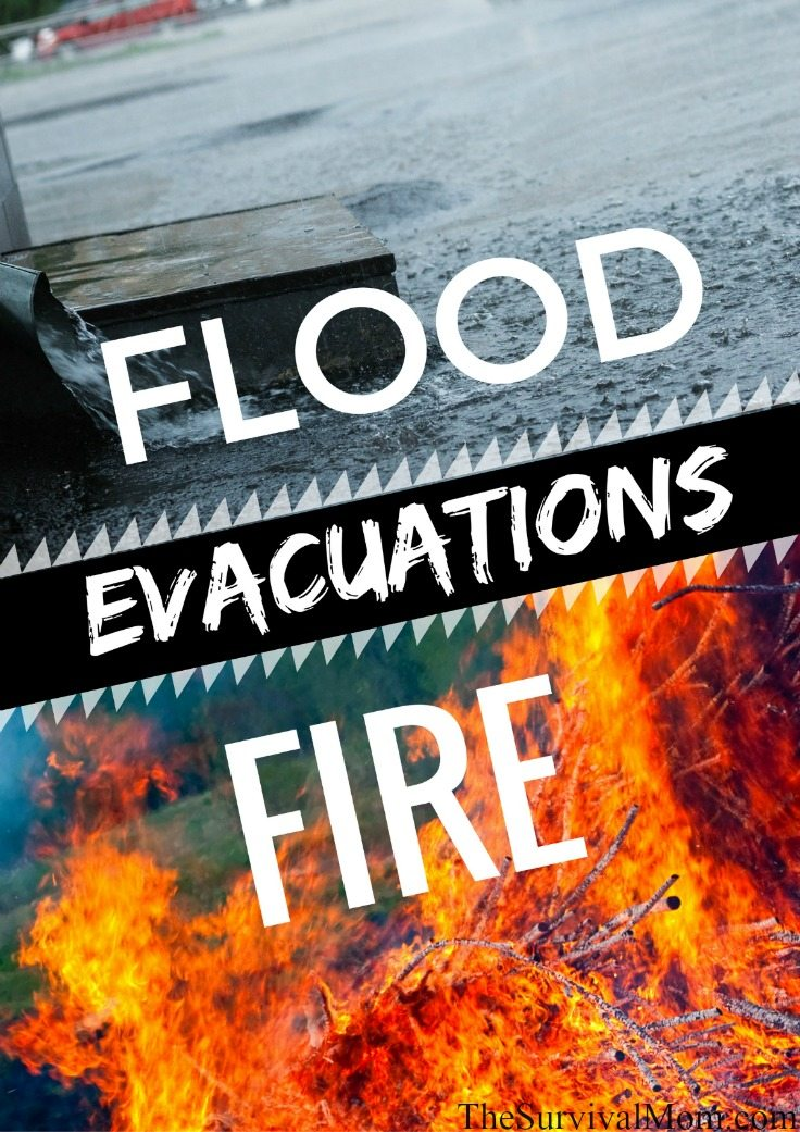 flood fire evacuation