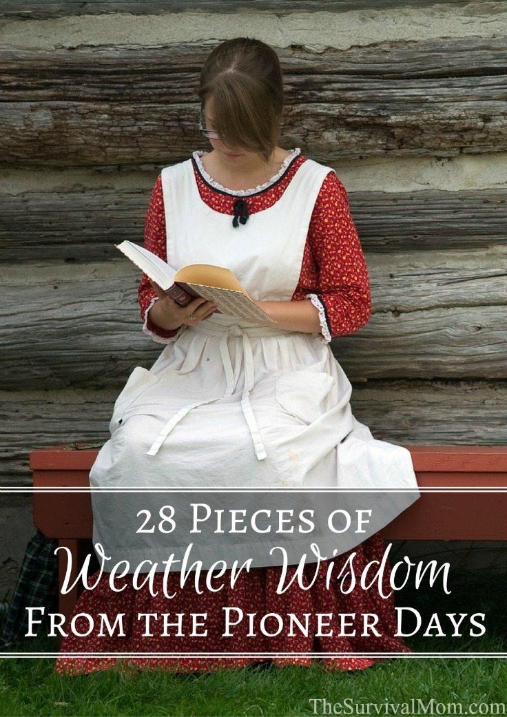 pioneer weather wisdom