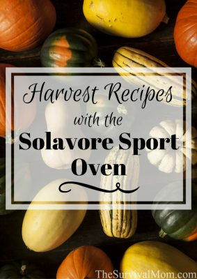 Harvest Recipes With the Solavore Sport Oven