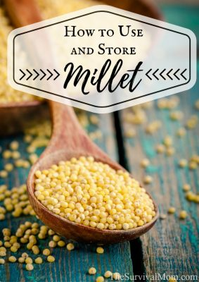 How to Use and Store Millet