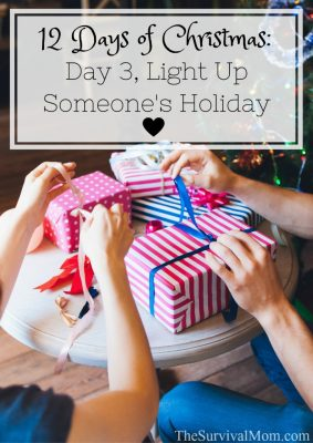The 12 Days of Christmas: Day 3, Light Up Someone's Holiday